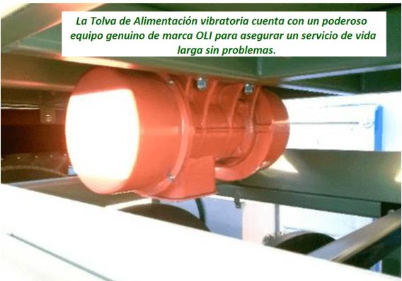 "modelo de trommel portátil para oro ""2410 v"" vibratorio"