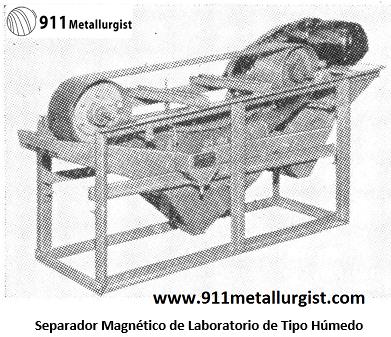 separación electromagnética magnetico laboratorio
