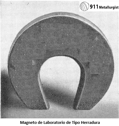 separación electromagnética magneto de laboratorio