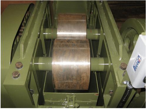 "trituradora de doble rodillo de 8"" laboratario"