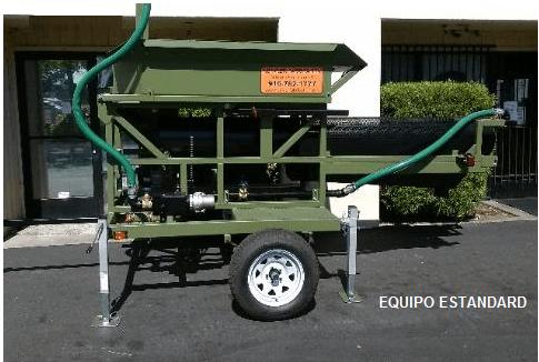 trommel lavador portatil para oro modelo 159 equipo standard