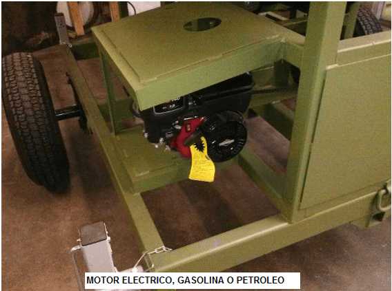 trommel lavador portatil para oro modelo 159 motor
