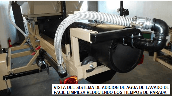 trommel lavador portatil para oro modelo 159 sistema