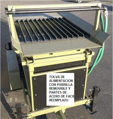 trommel lavador portatil para oro modelo 2410 alimentacion