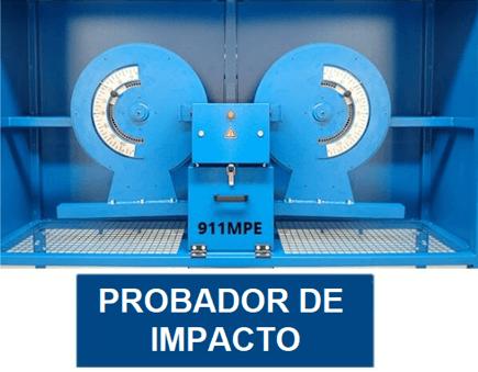 instrumento de pruebas para work index de bond con trituración de impacto probador
