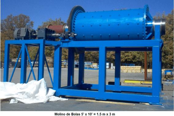molinos de bolas industriales pequeños 0.5 a 50 tph bolas