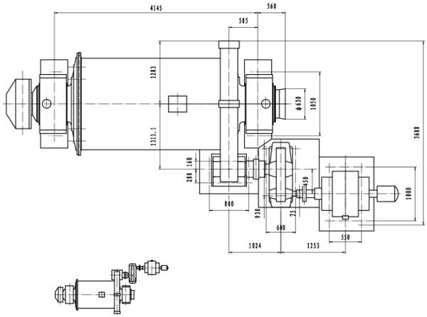 molinos de bolas industriales pequeños 0.5 a 50 tph layout