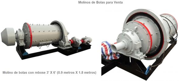 molinos de bolas industriales pequeños 0.5 a 50 tph logo para venta