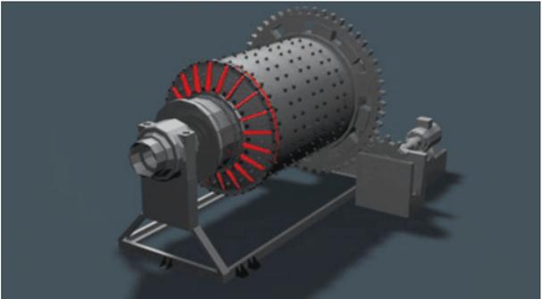 molinos de bolas industriales pequeños 0.5 a 50 tph motor