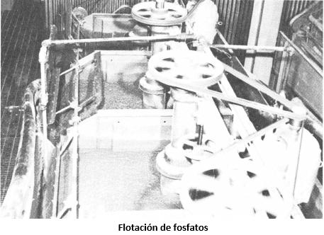 procesamiento de fosfatos flotacion de fosfatos