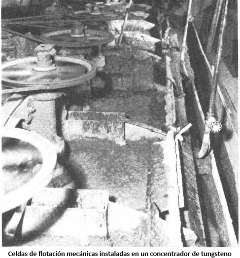 metalurgia del tungsteno flotacion mecanicas