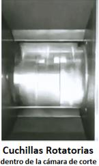 molino de corte grande para desmenuzado industrial 911mpecm1000 cuchillas