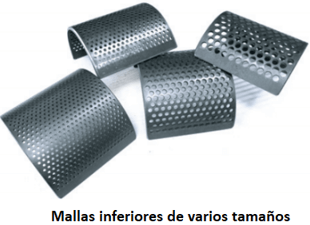 molino de cuchillas rotatorio 911mpecm500 mallas