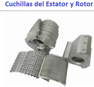 molino de cuchillas rotatorio 911mpecm500 rotor