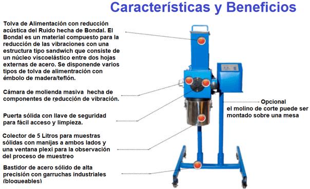 molino de corte para laboratorio 911mpecm100 caracteristicas