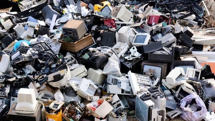 reciclaje de basura electrónica categorias