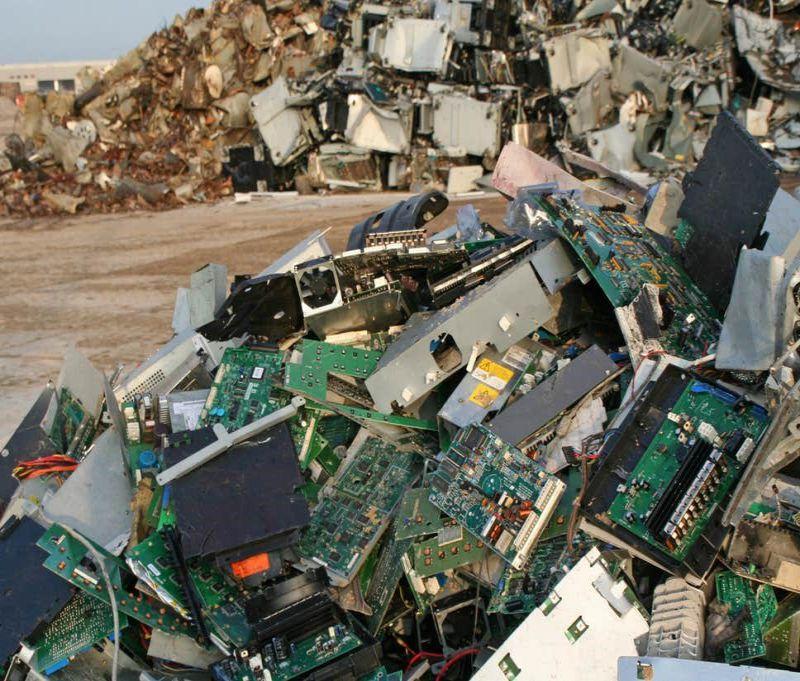 reciclaje de basura electrónica metodos