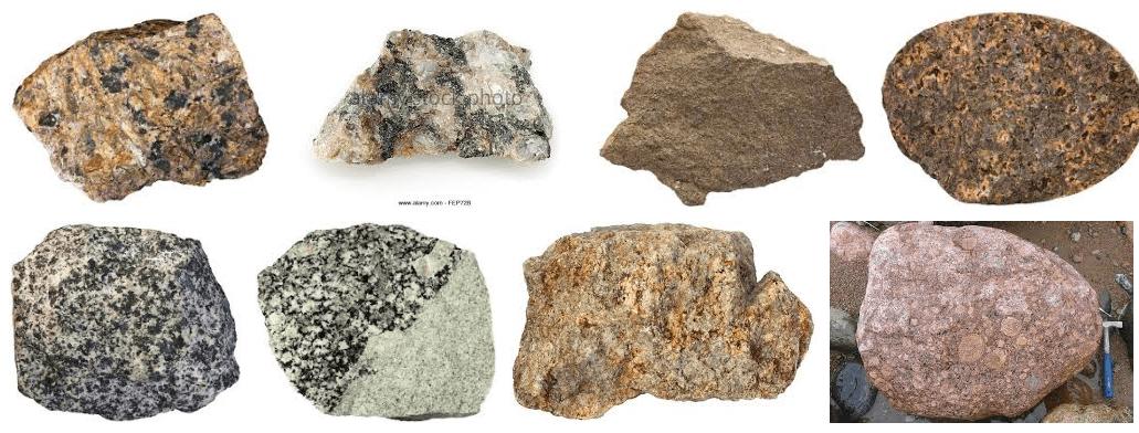 Gold in Granite & Plutonic Rocks