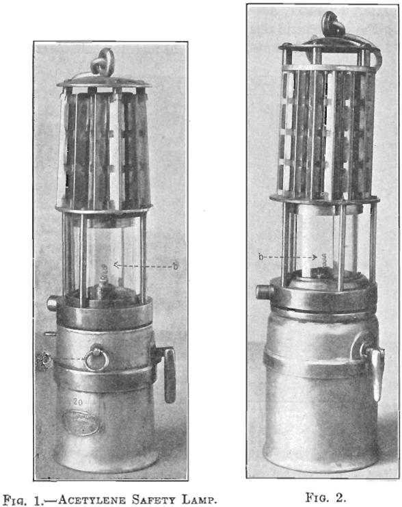 acetylene safety lamp