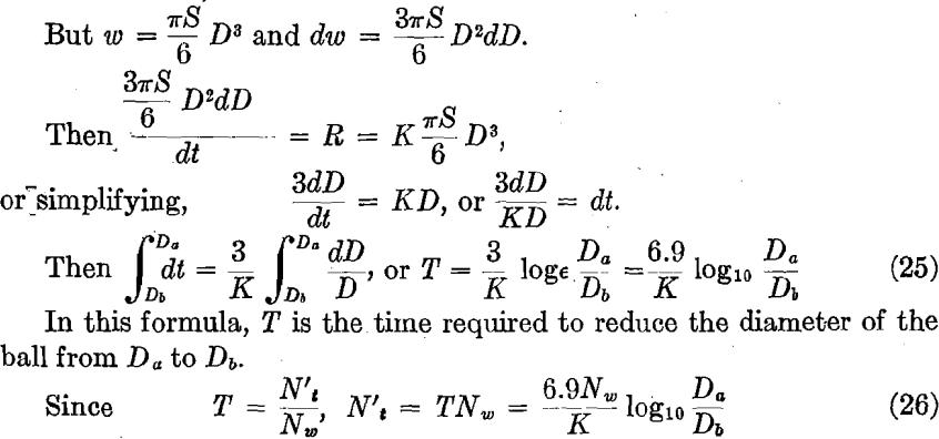 ball-mill-formula