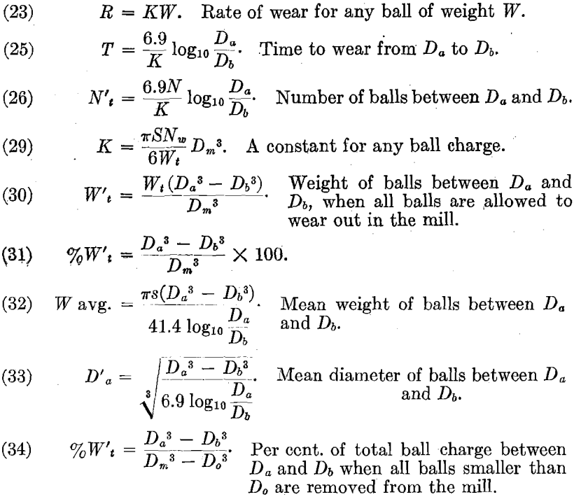 ball-mill-rate-of-wear