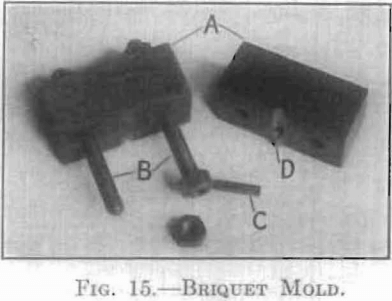 briquet-mold
