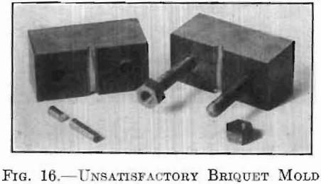 unsatisfactory-briquet-mold