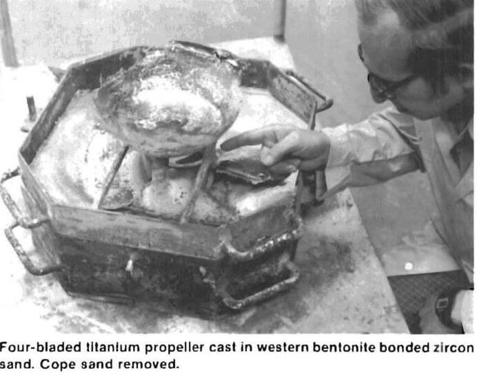 titanium castings propeller
