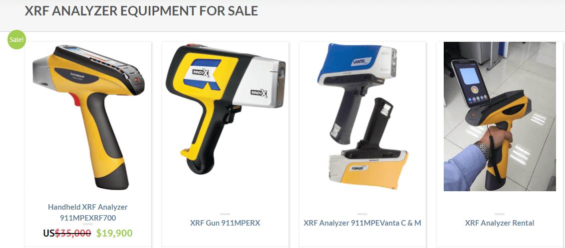 Xrf alloy penetration 1