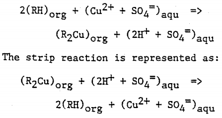 recovery-of-copper-extraction-reaction