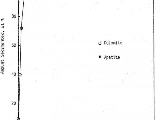Selective Apatite Dolomite Flocculation