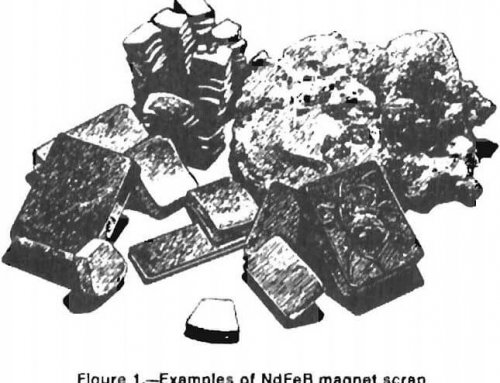 Recover Neodymium from Permanent Scrap Magnet