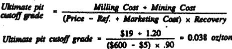 cutoff-grade-selling-price