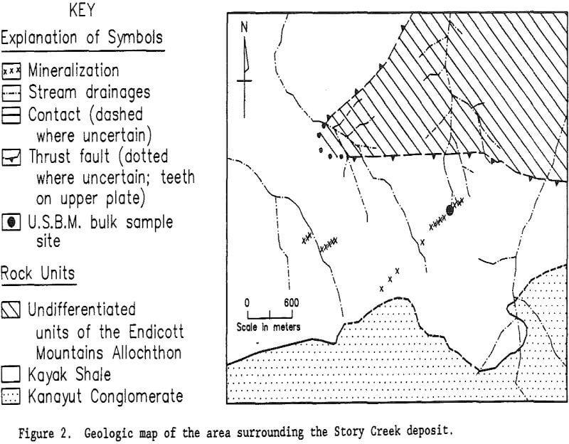 Lead And Zinc Mineralization In Alaska