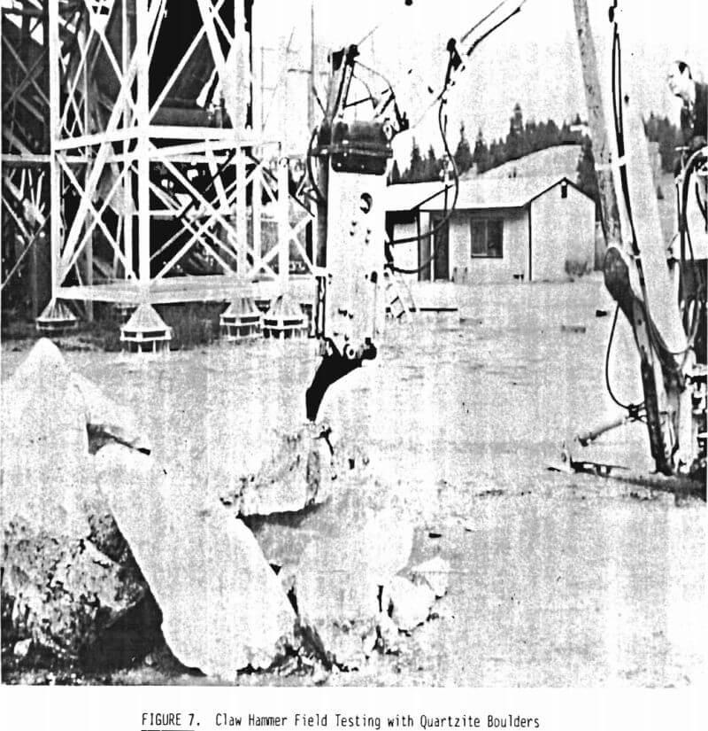 claw-hammer field testing