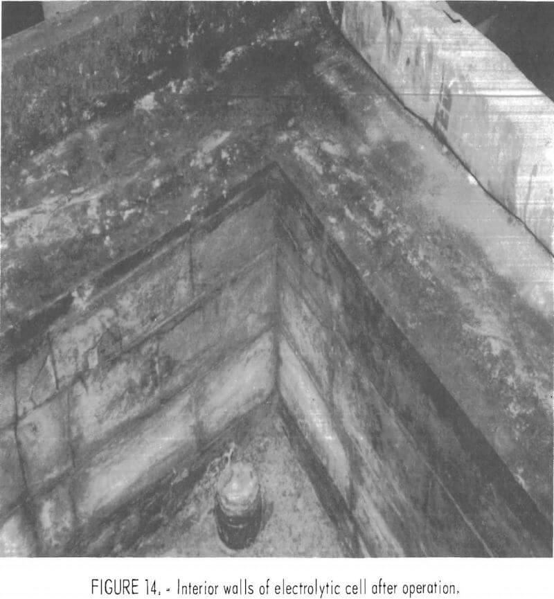 ferric-chloride-leaching interior walls
