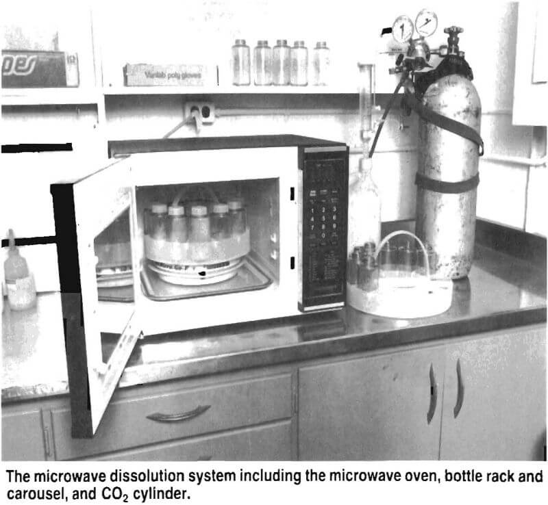 microwave acid dissolution