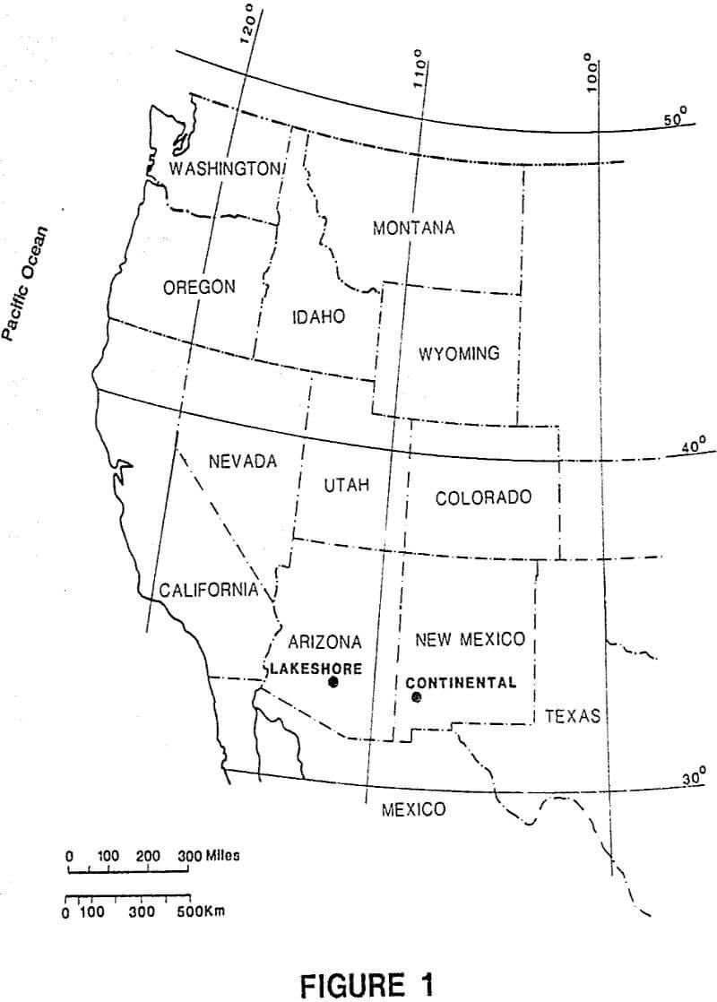 mining geology map