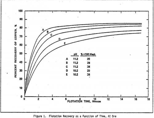 Flotation Kinetics Data Analysis