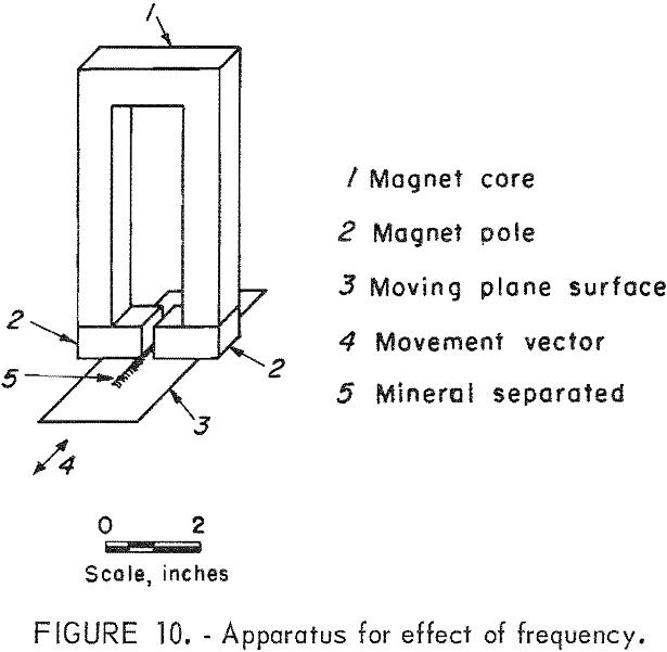 magnetic separator apparatus