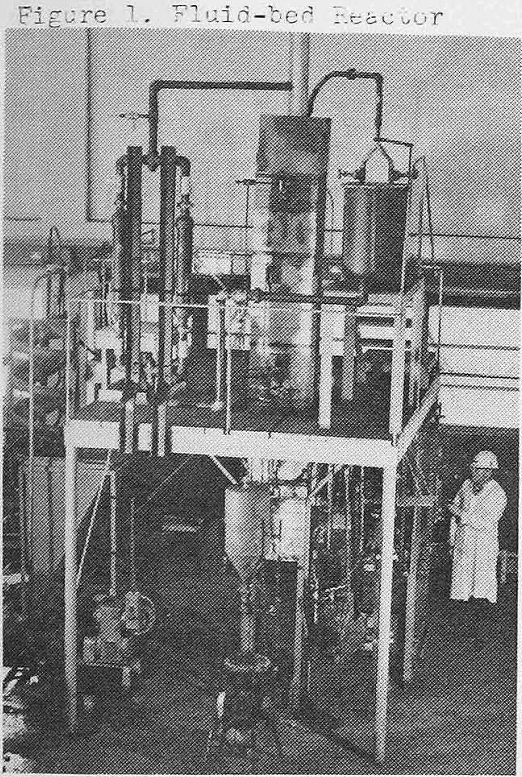 extraction-of-copper fluid bed reactor