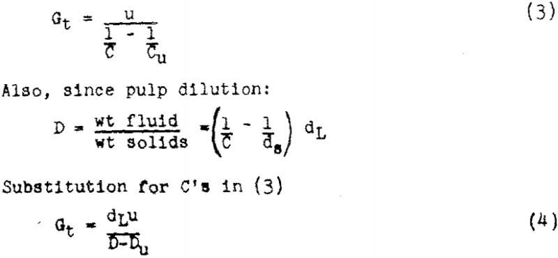 thickener-design-theory-equation