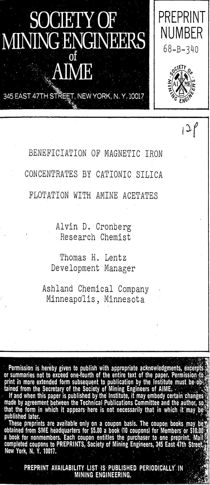 beneficiation of magnetic iron concentrates by cationic silica flotation with amine acetates