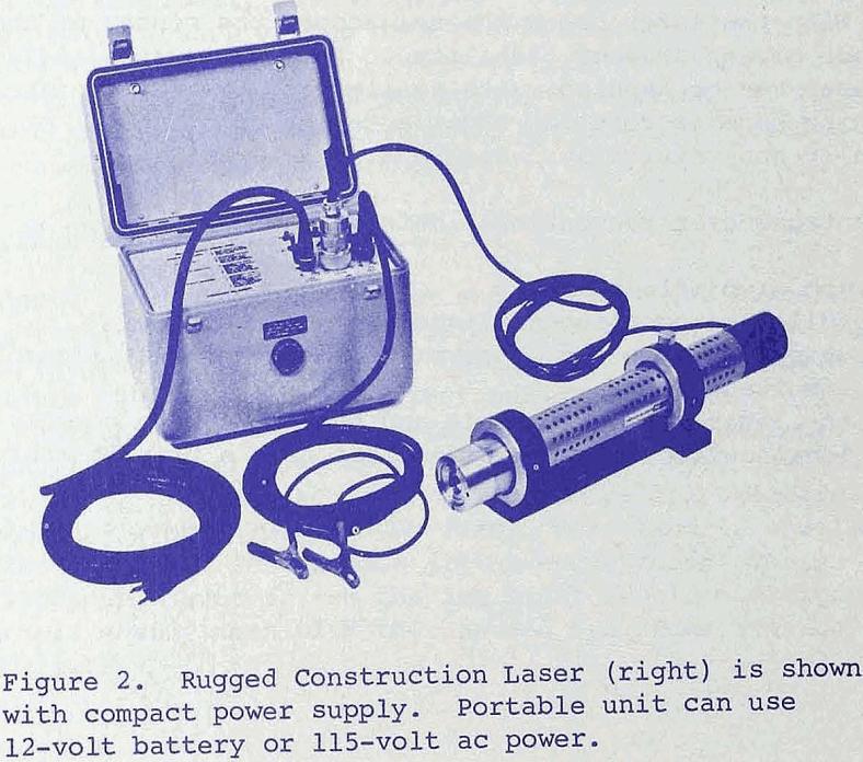 laser alignment rugged construction laser