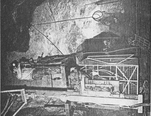 Alimak Raise Climber at Iron King Branch of Shattuck Denn Mining Corporation