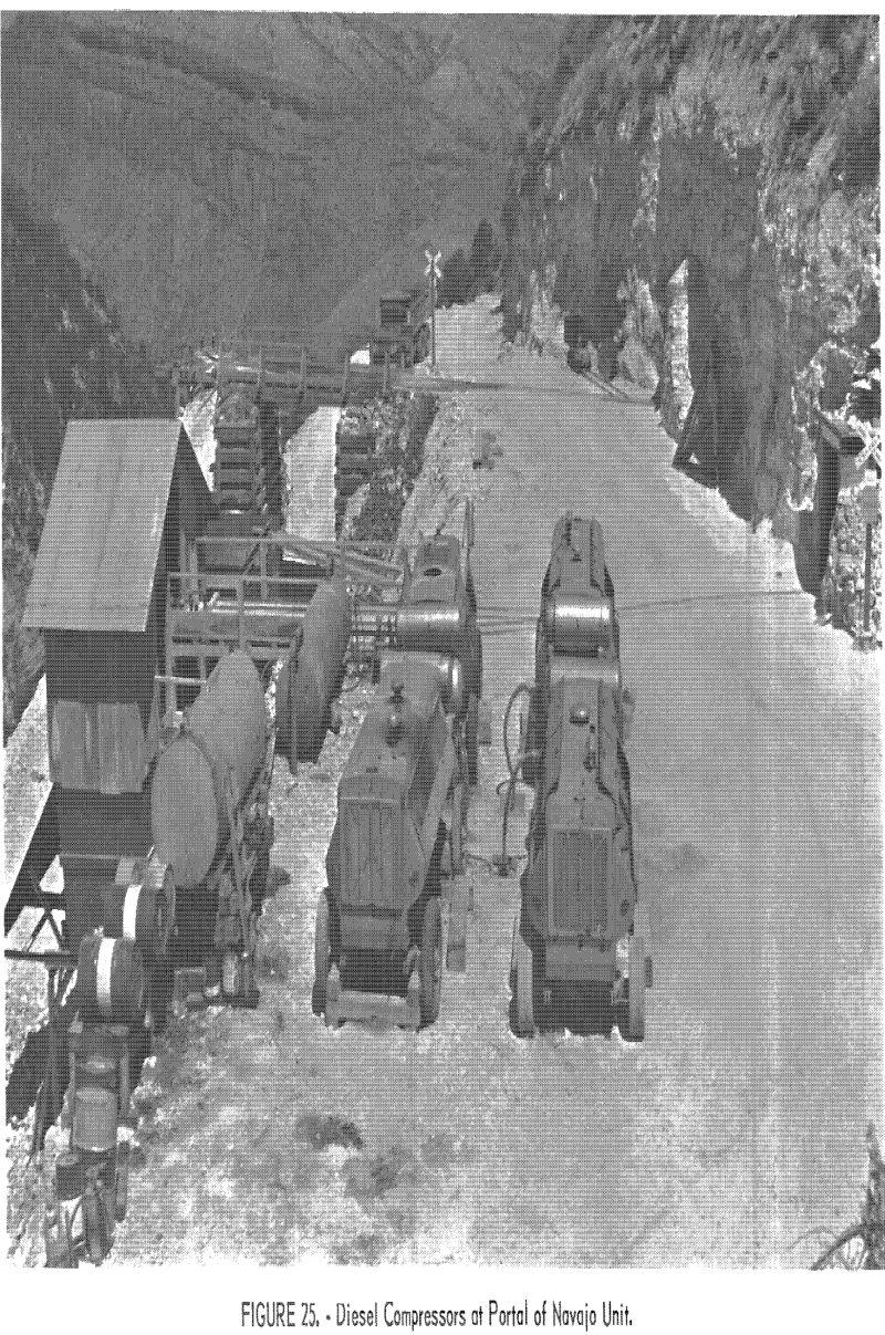 mining methods costs diesel compressor