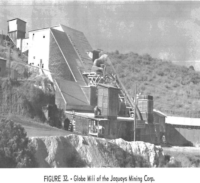 mining methods costs globe mill
