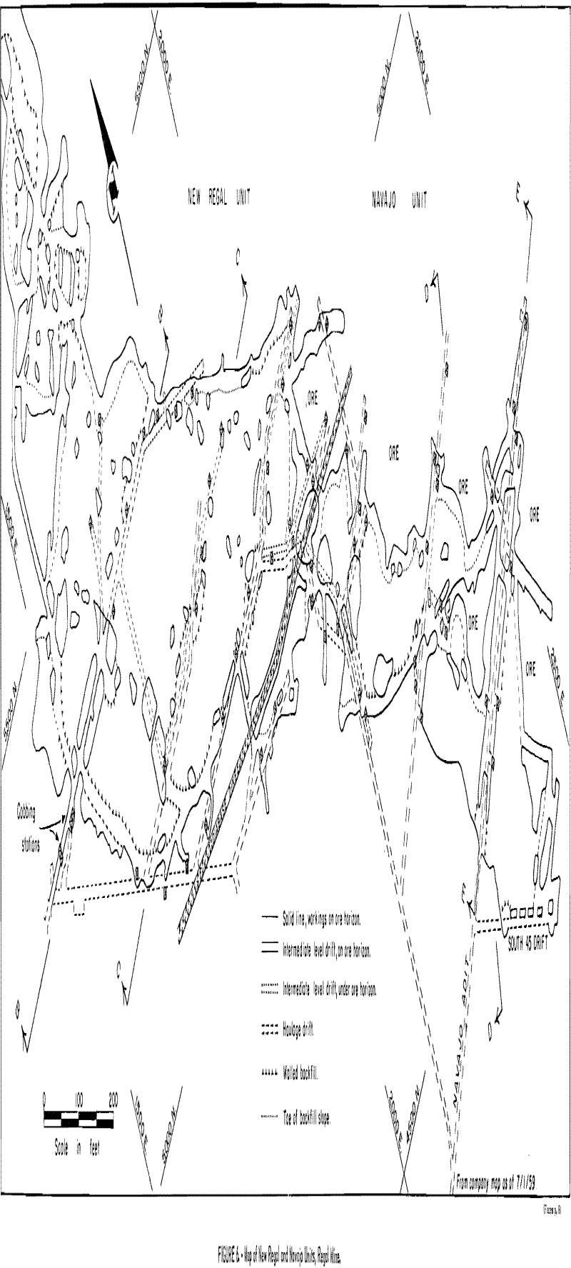 mining methods costs map
