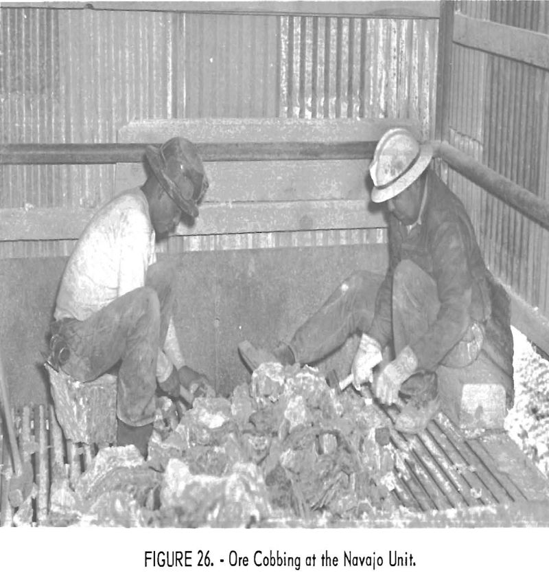 mining methods costs ore cobbing