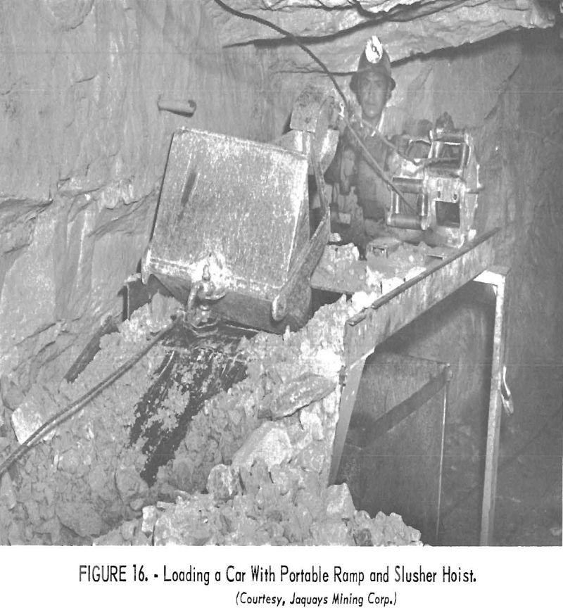 mining methods costs portable ramp and slusher hoist